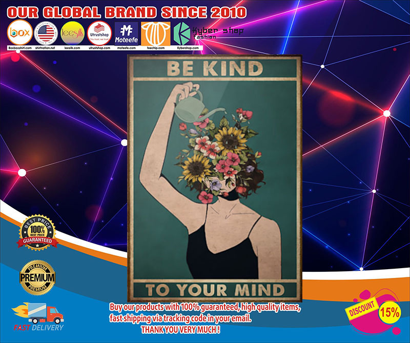 Poster Mental Be kind to your mind 9