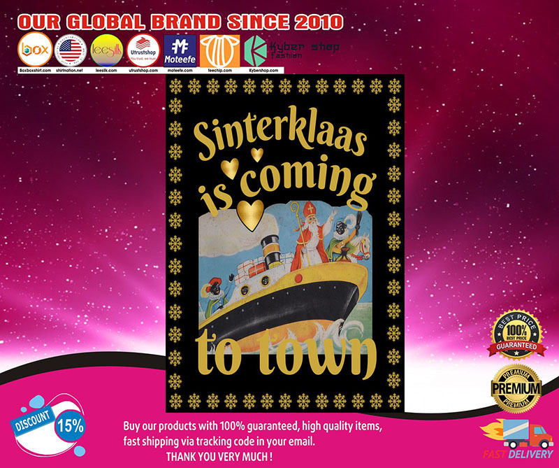 Sinterklaas is coming to town poster 8