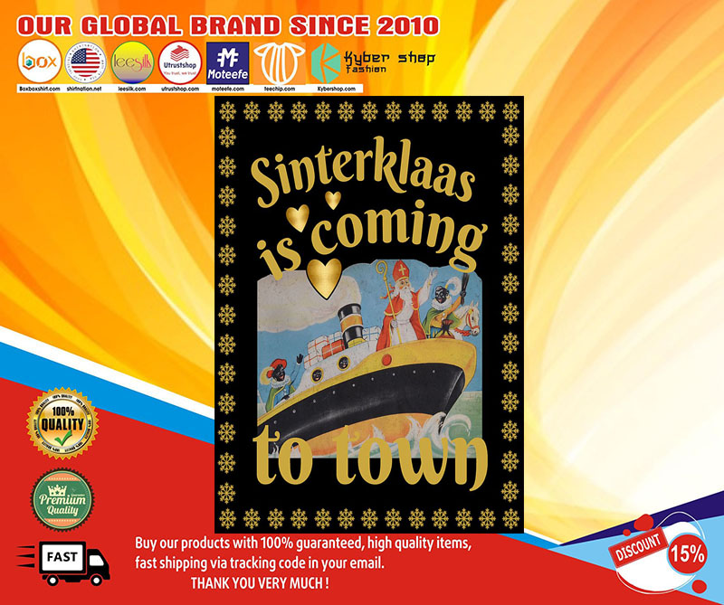 Sinterklaas is coming to town poster 7