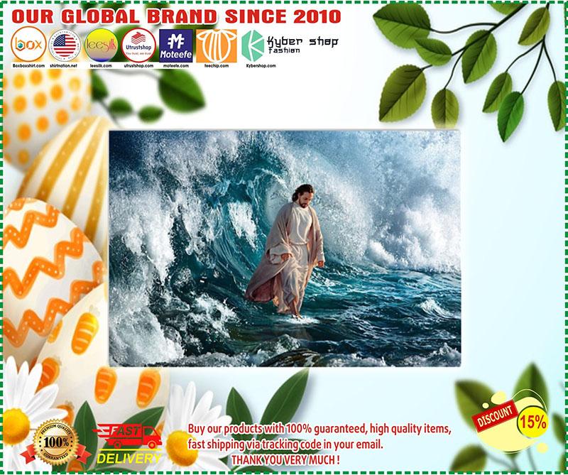 Poster Jesus He walks on water 8