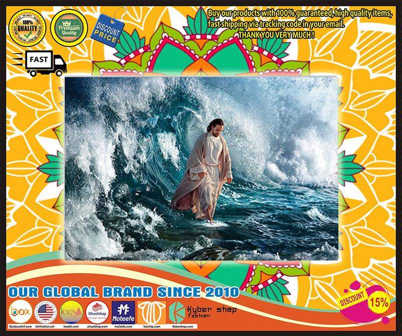 Poster Jesus He walks on water 7