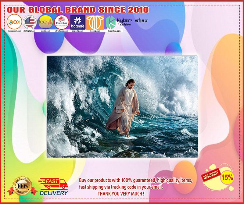 Poster Jesus He walks on water