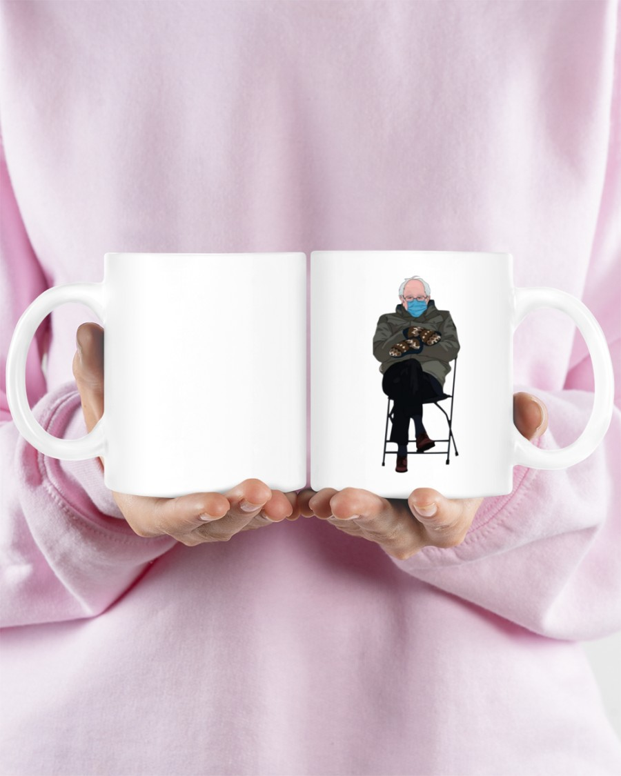 Bernie sanders mittens mug 10