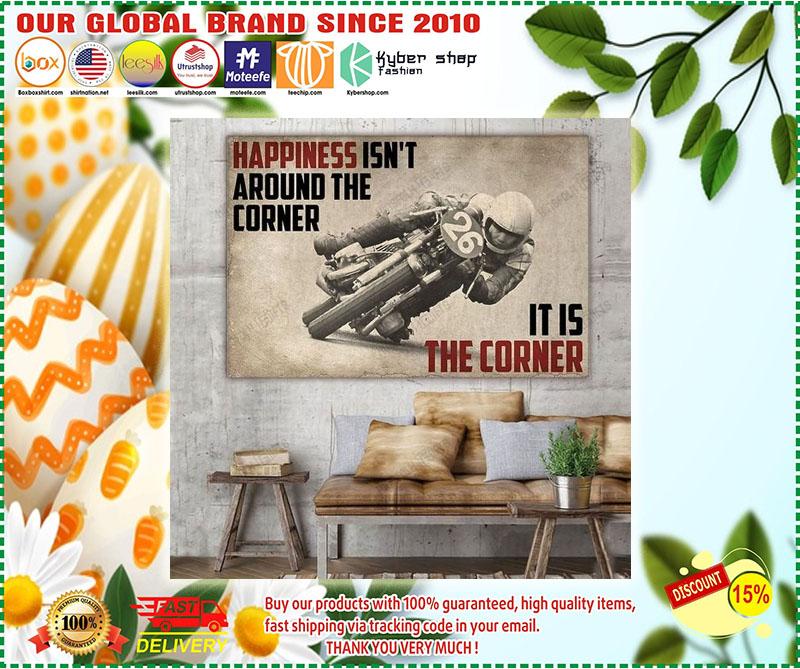 Poster Happiness isn't around the corner 11