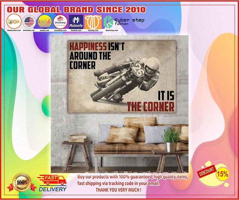 Poster Happiness isn't around the corner 10