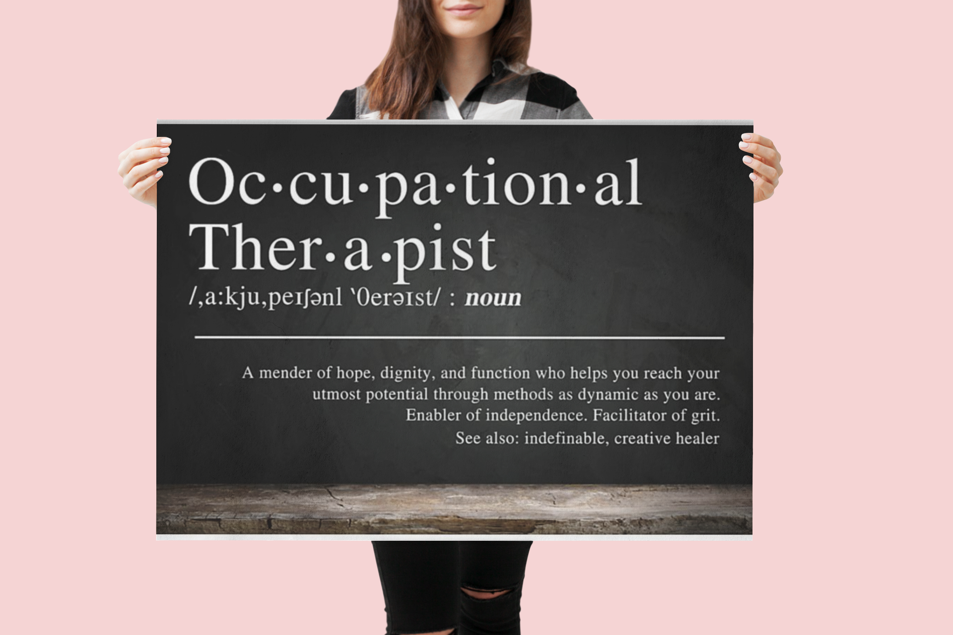 Poster Occupational therapist definition 9