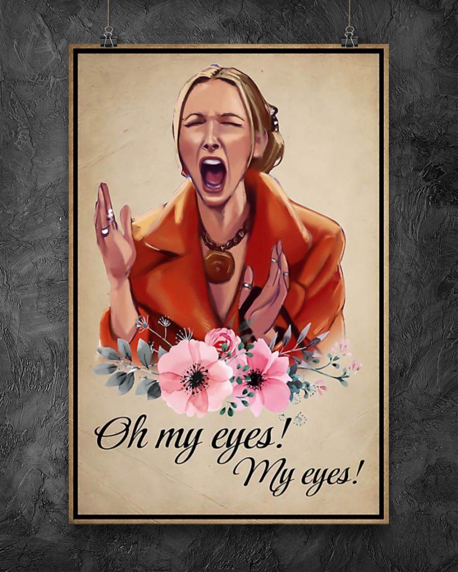 Phoebe buffay oh my eyes my eyes poster 10
