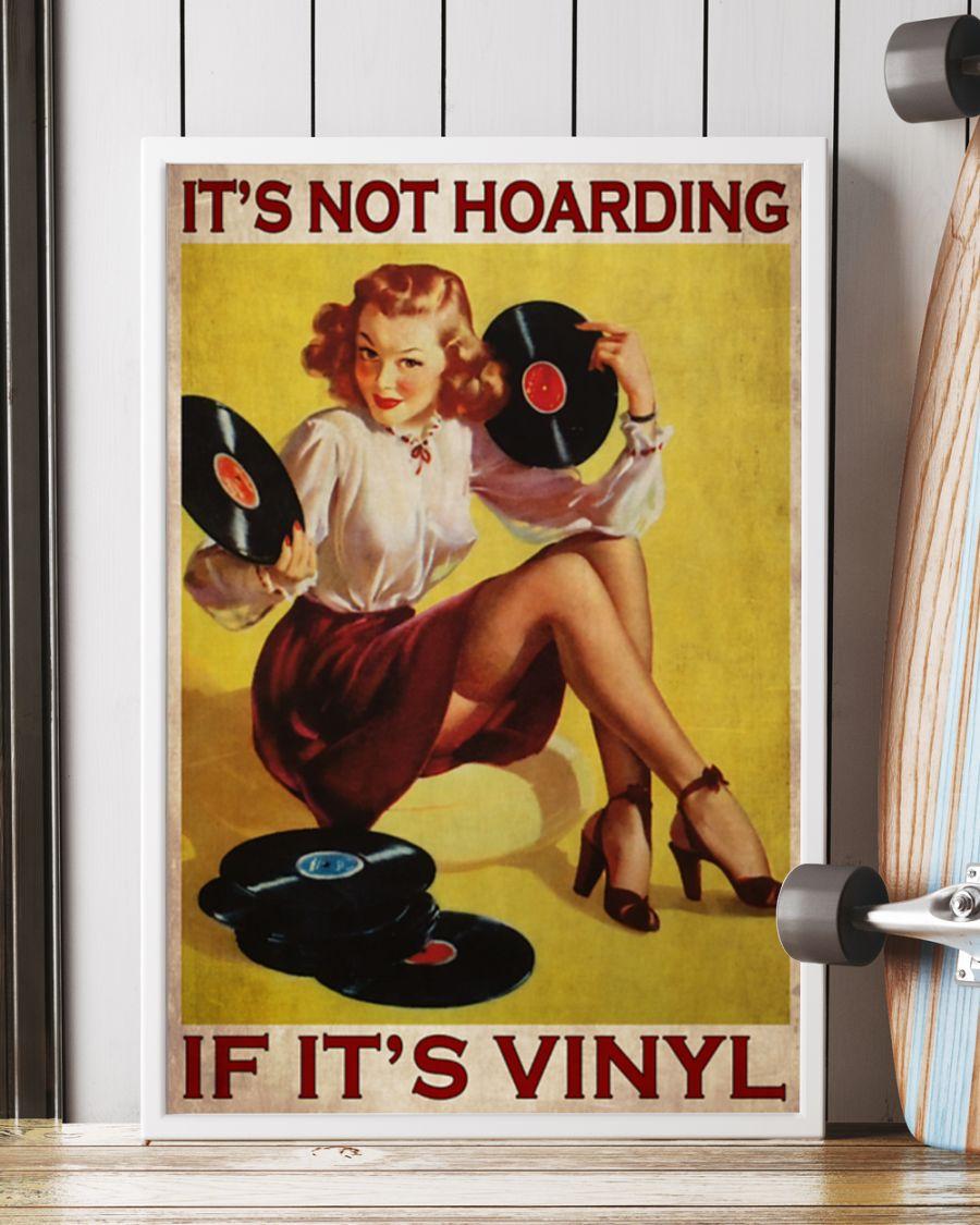 Poster Girl if it's vinyl It's not hoarding 9