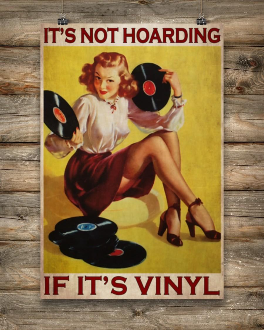 Poster Girl if it's vinyl It's not hoarding 11