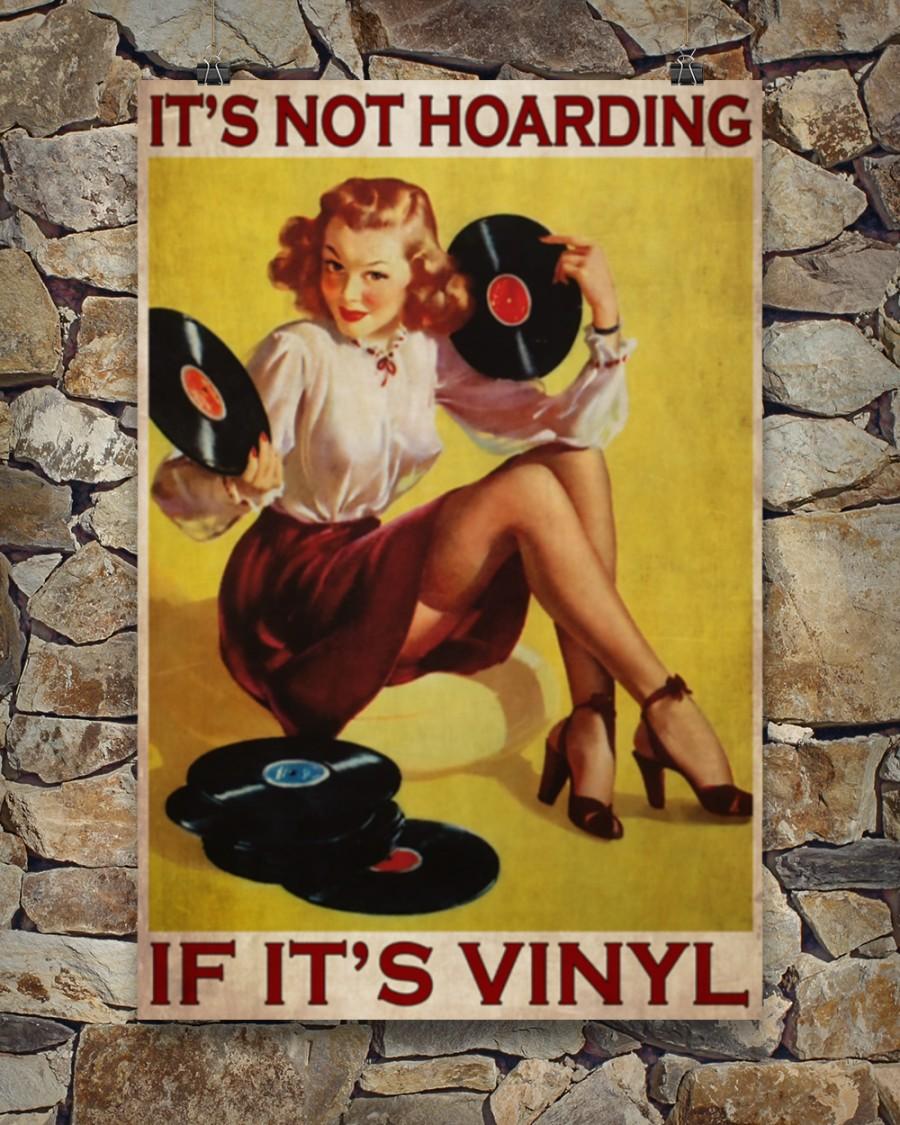 Poster Girl if it's vinyl It's not hoarding 10
