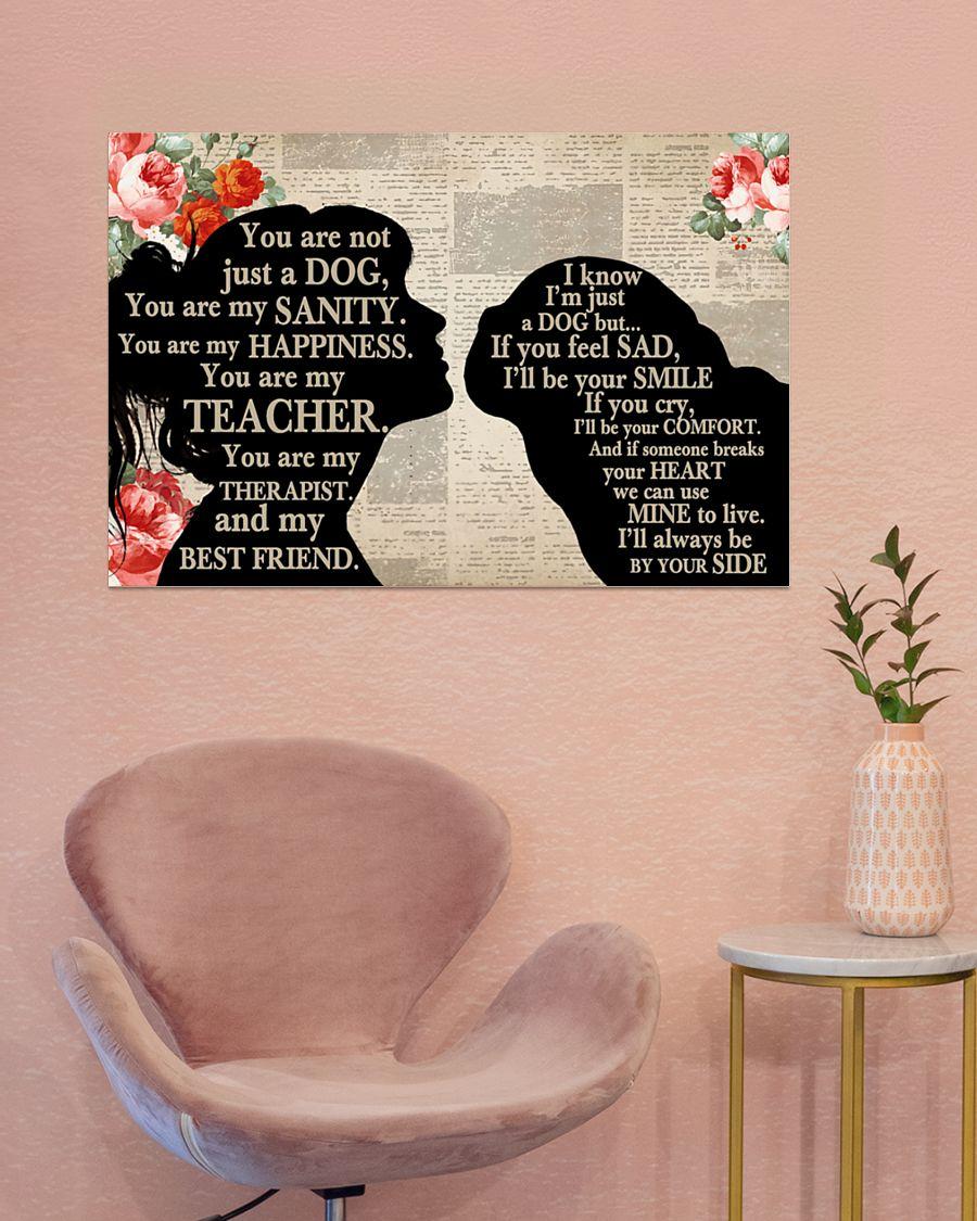 Poster Pug girl therapist best friend 11