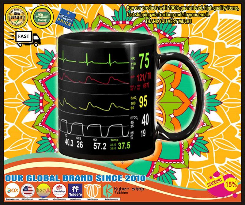 Cardiologist number screen mug 8