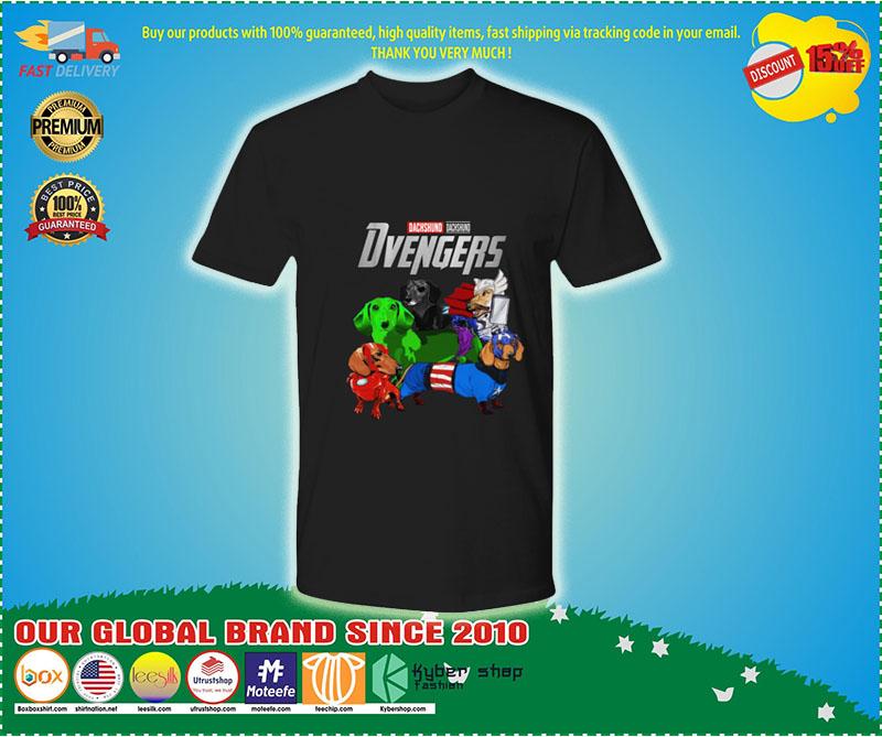 Dachshund Avenger Dvengers shirt 8