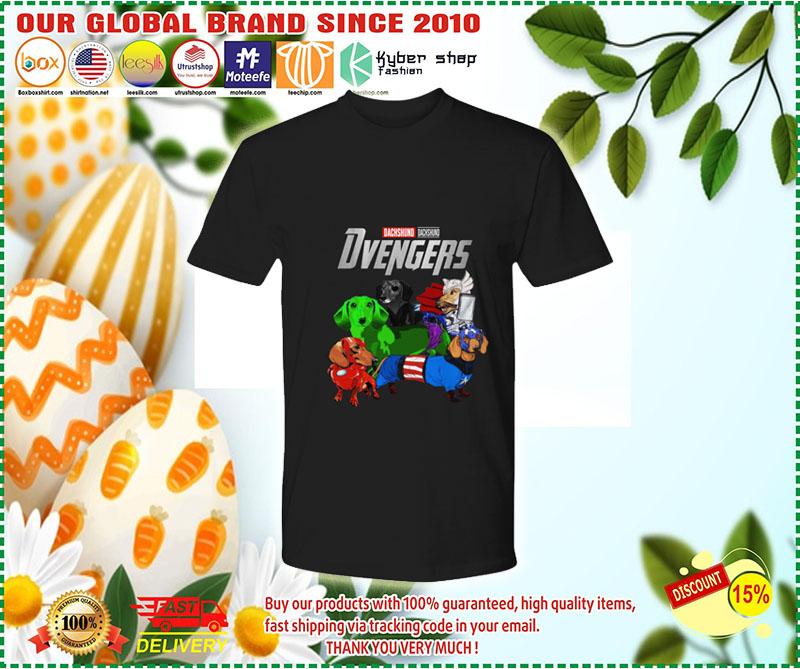 Dachshund Avenger Dvengers shirt 10