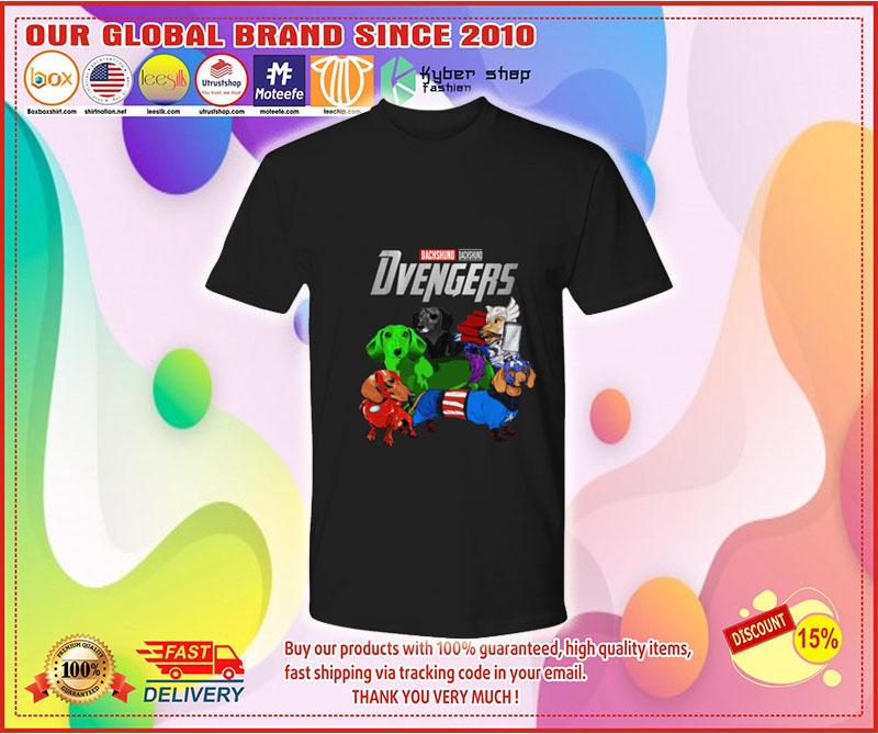 Dachshund Avenger Dvengers shirt 9