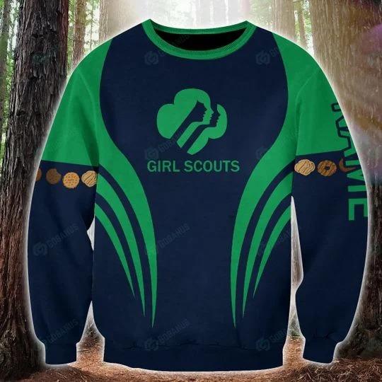 Girl scounts custom name 3D hoodie 1
