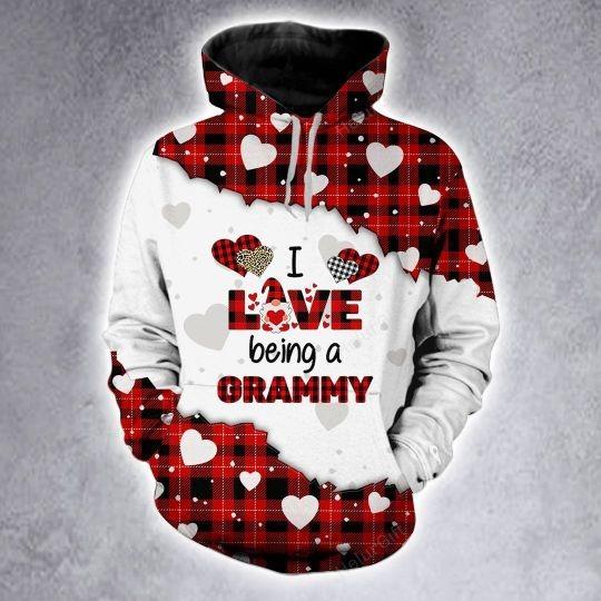I love being a Gramma custom name 3D hoodie and legging 3