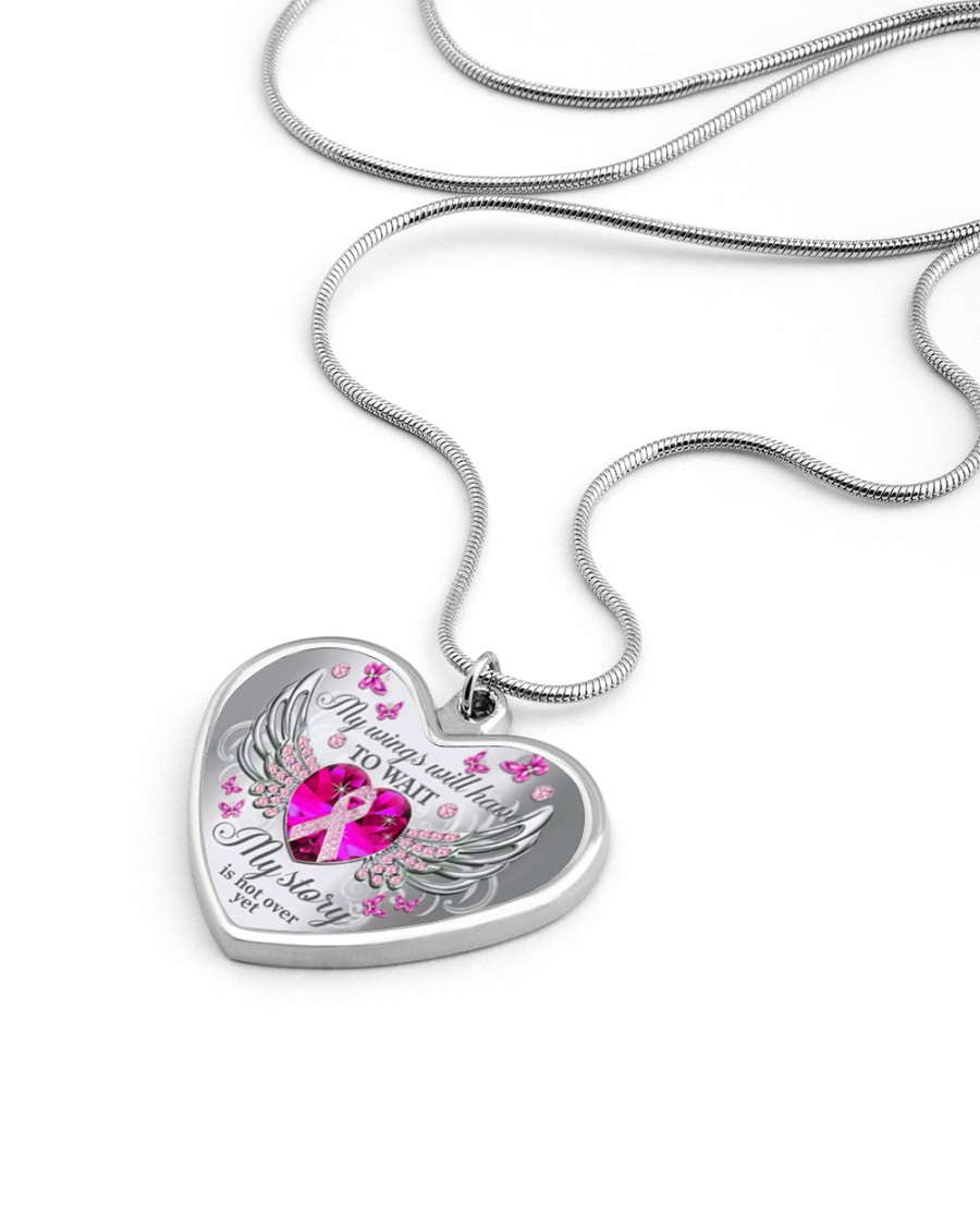 My wings will have to wait my story is not over yet necklace 10