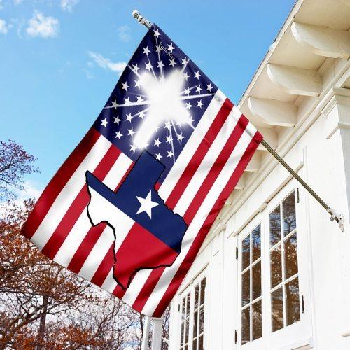 Texas American flag 4