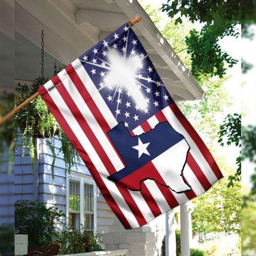 Texas American flag 3