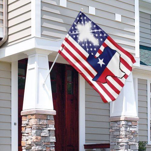 Texas American flag 2