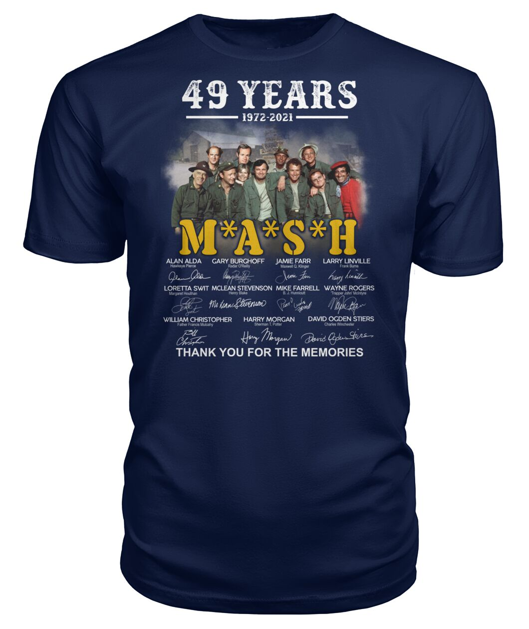 49 years 1972 2021 mash thank you for the memories Shirt 11