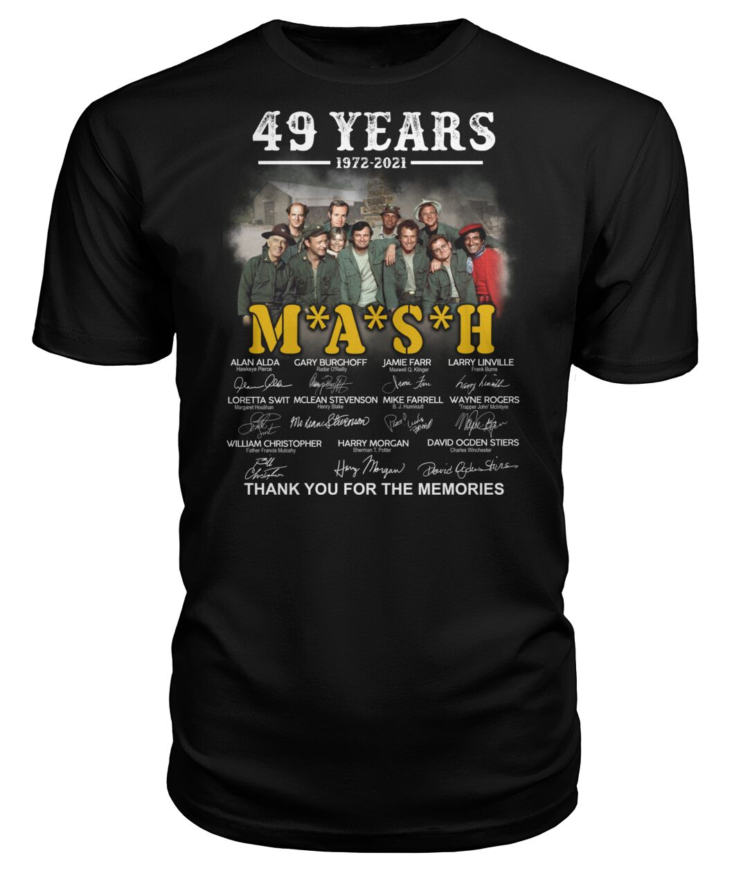 49 years 1972 2021 mash thank you for the memories Shirt 12