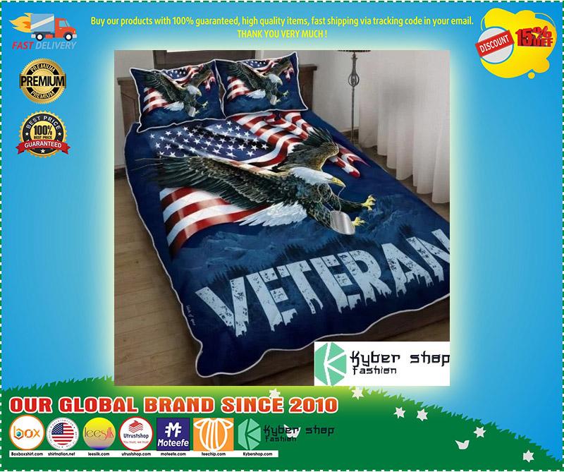 American eagle veteran bedding set 9