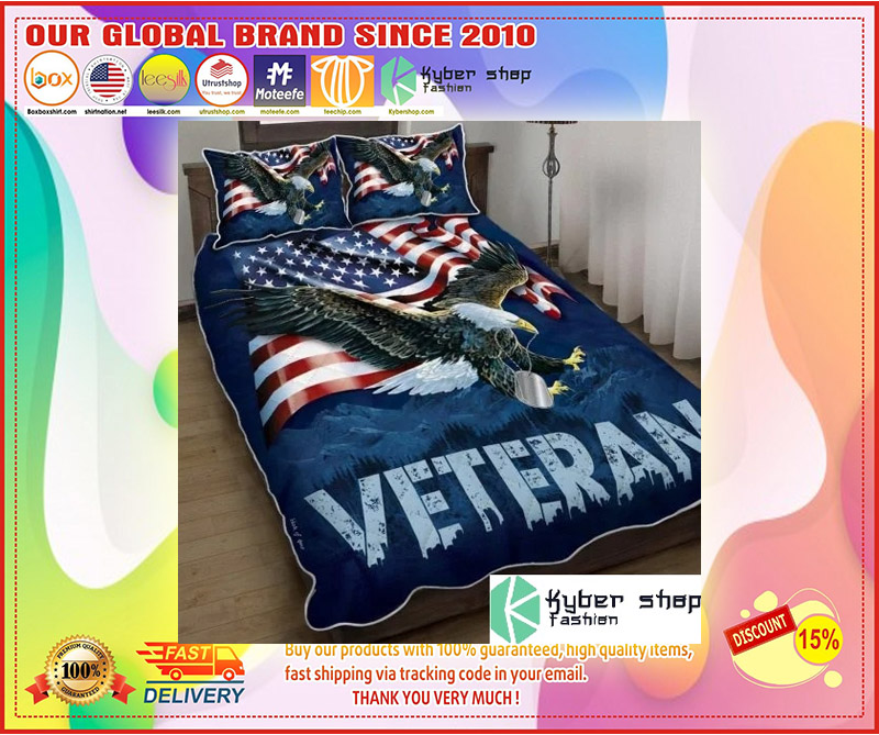 American eagle veteran bedding set 10