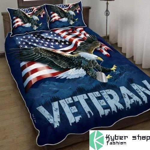 American eagle veteran bedding set