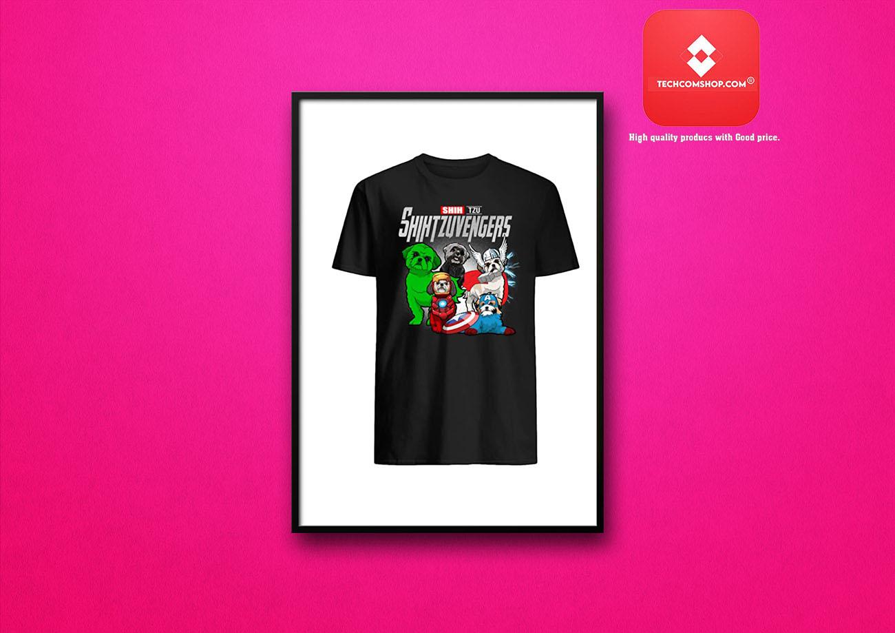 Avengers shih tzu Shihtzuvengers Shirt 7
