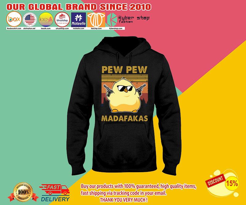 Chicken Pew pew madafakas shirt 8