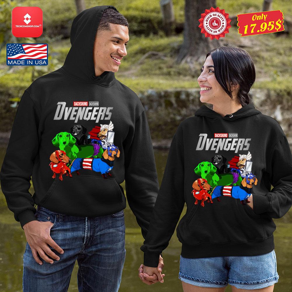 Dachsund Avengers Shirt 10