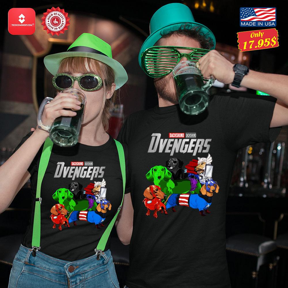 Dachsund Avengers Shirt 13