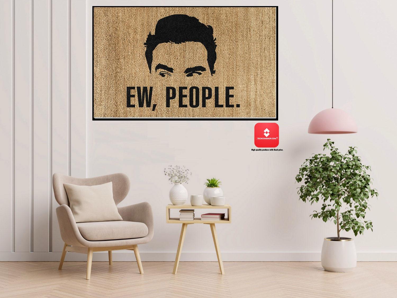 David Rose Ew people doormat 7