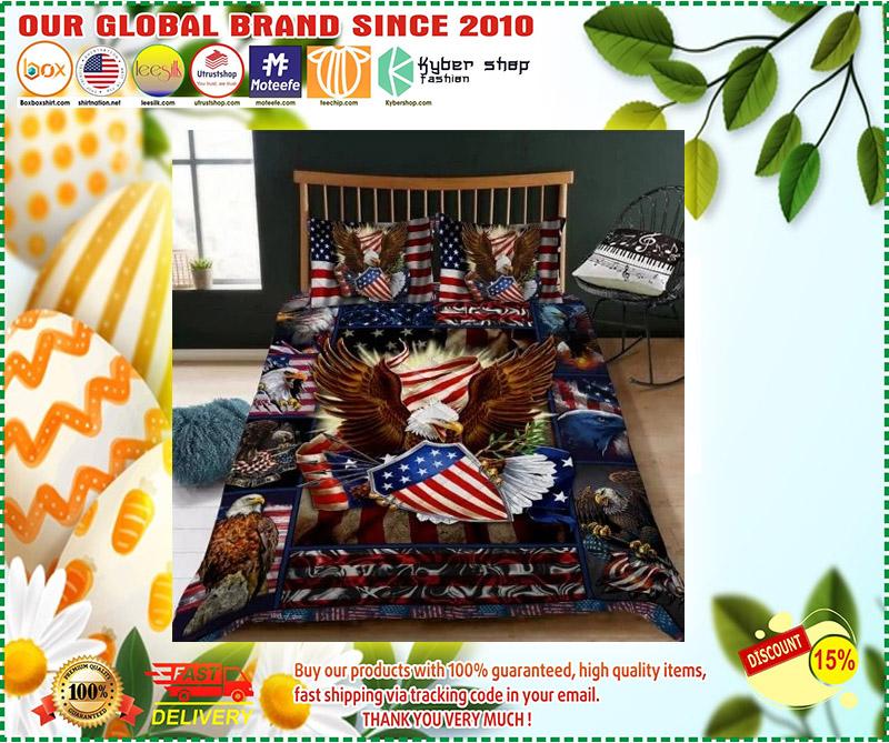 Eagle American bedding set 9