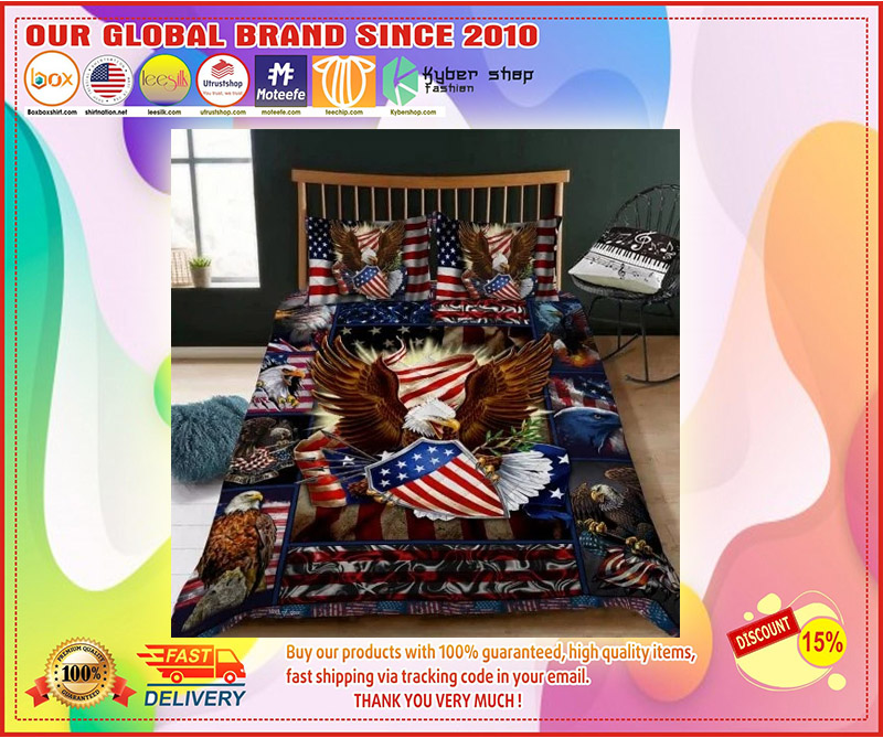 Eagle American bedding set 11