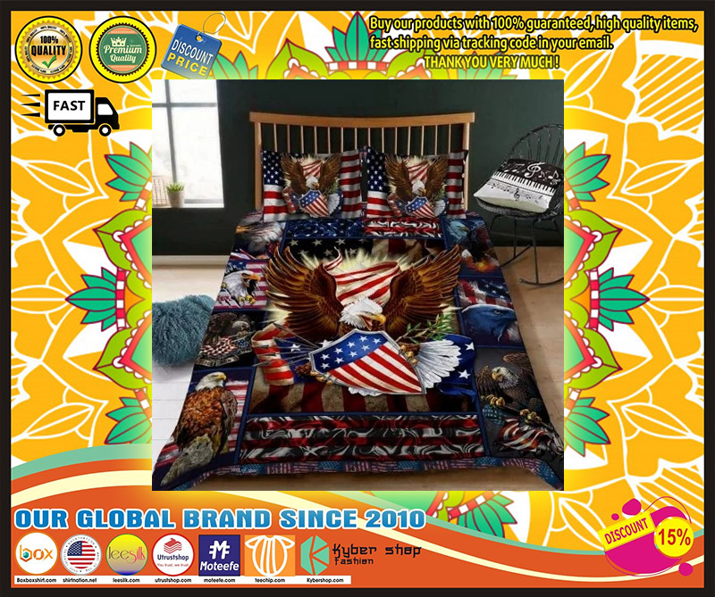 Eagle American bedding set 10
