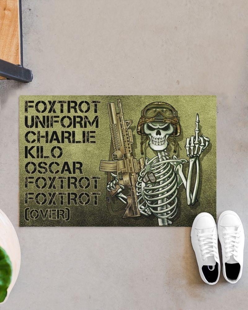 Foxtrot uniform charlie kilo poster 11