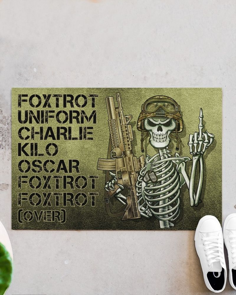 Foxtrot uniform charlie kilo poster 10
