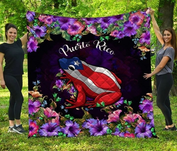 Frog Puerto rico bedding set 7