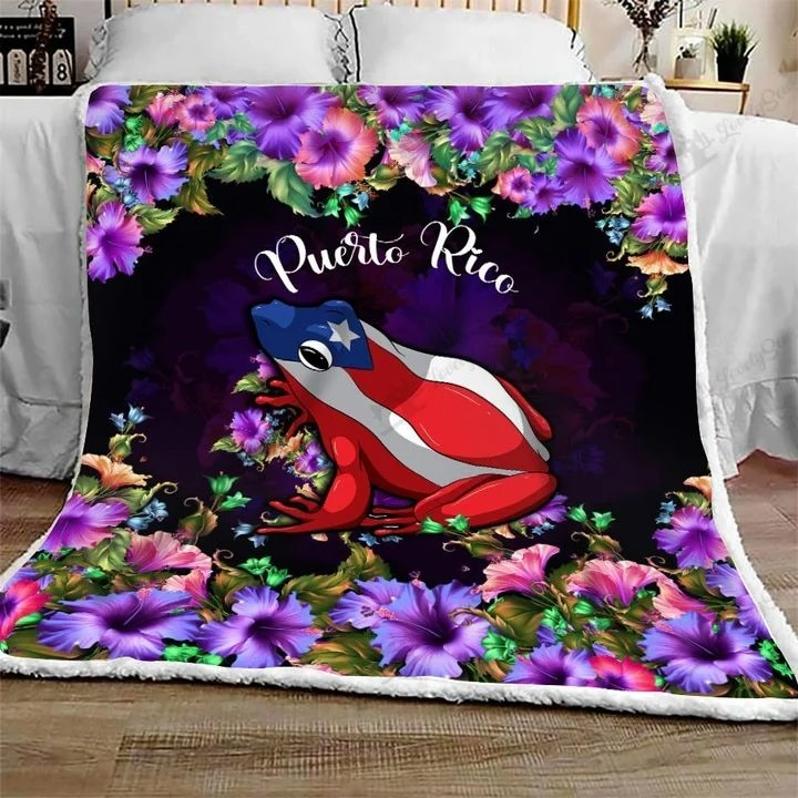 Frog Puerto rico bedding set 8