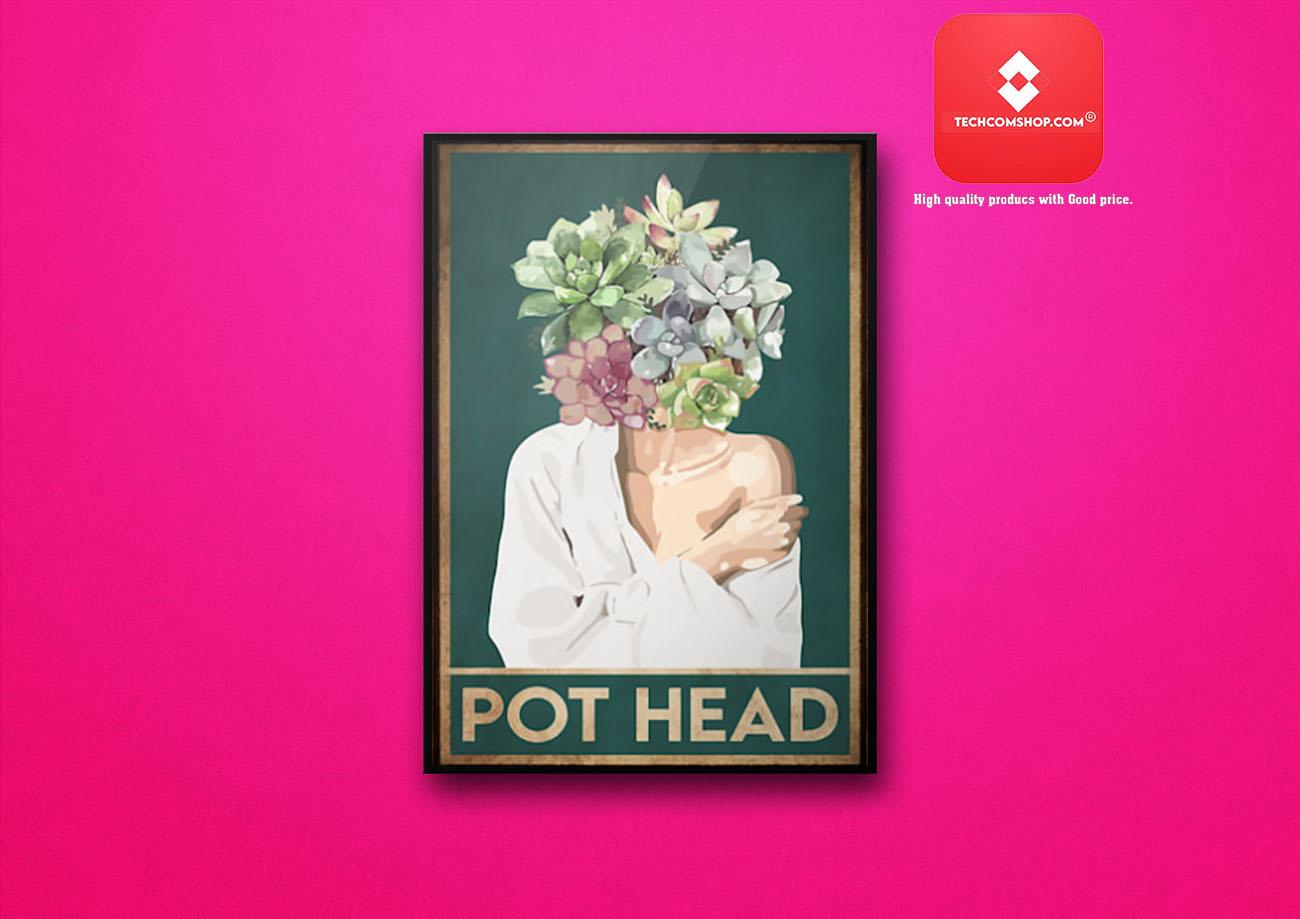 Garden pot head poster 7