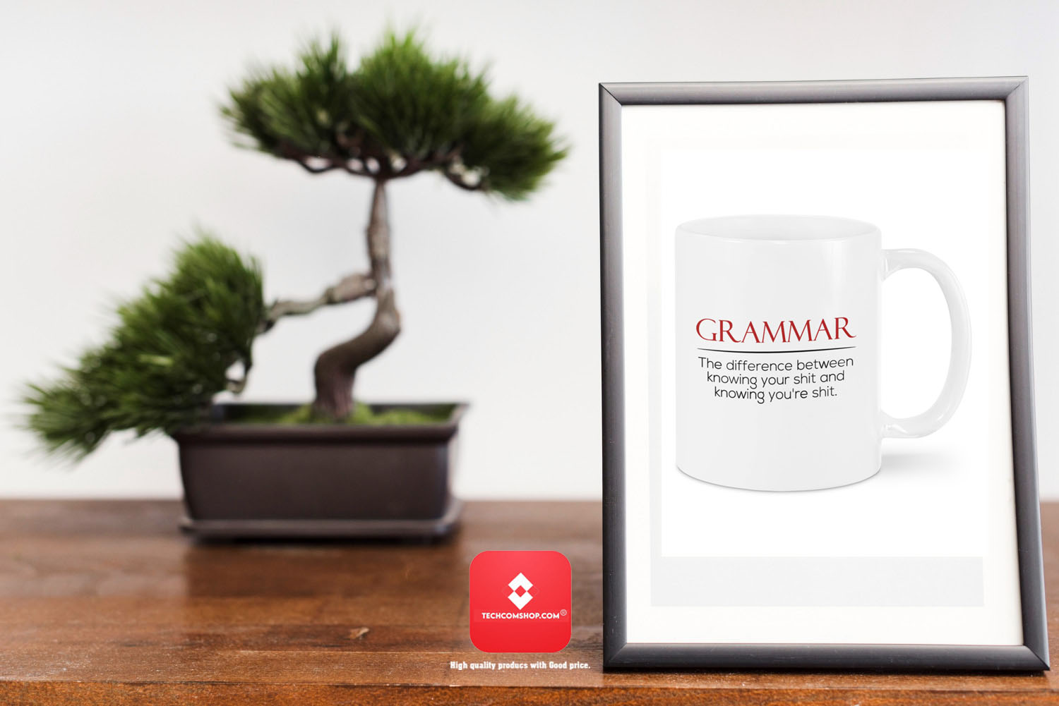 Grammar the difference between knowing your shit and knowing you're shit mug 7