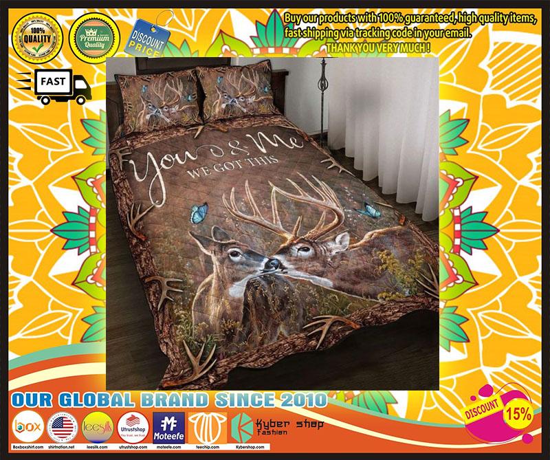 Hunting Deer bedding set 9