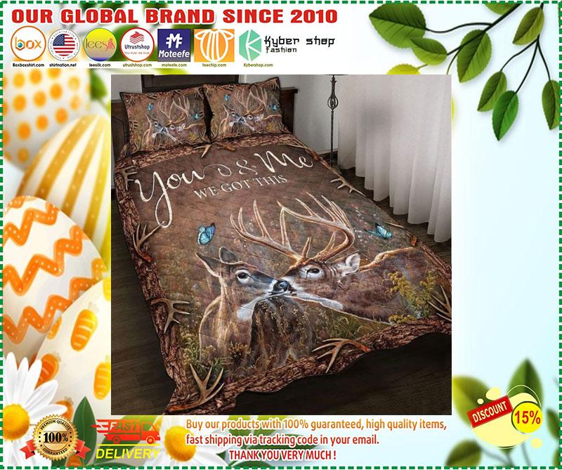 Hunting Deer bedding set 11
