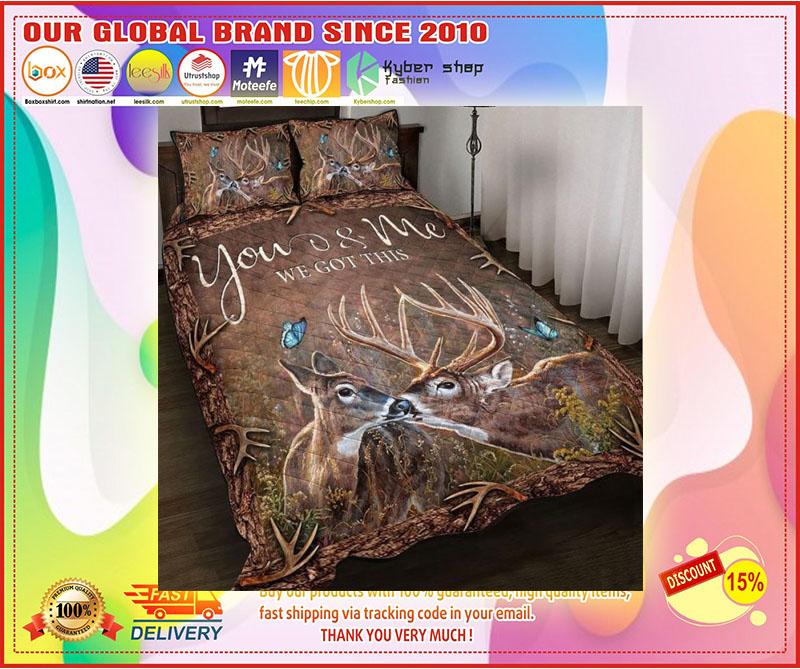 Hunting Deer bedding set 10