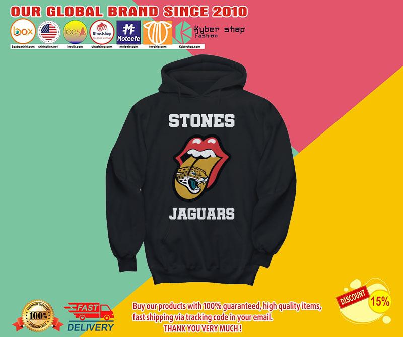 Jacksonville Jaguars Rolling Stones tongue shirt 8
