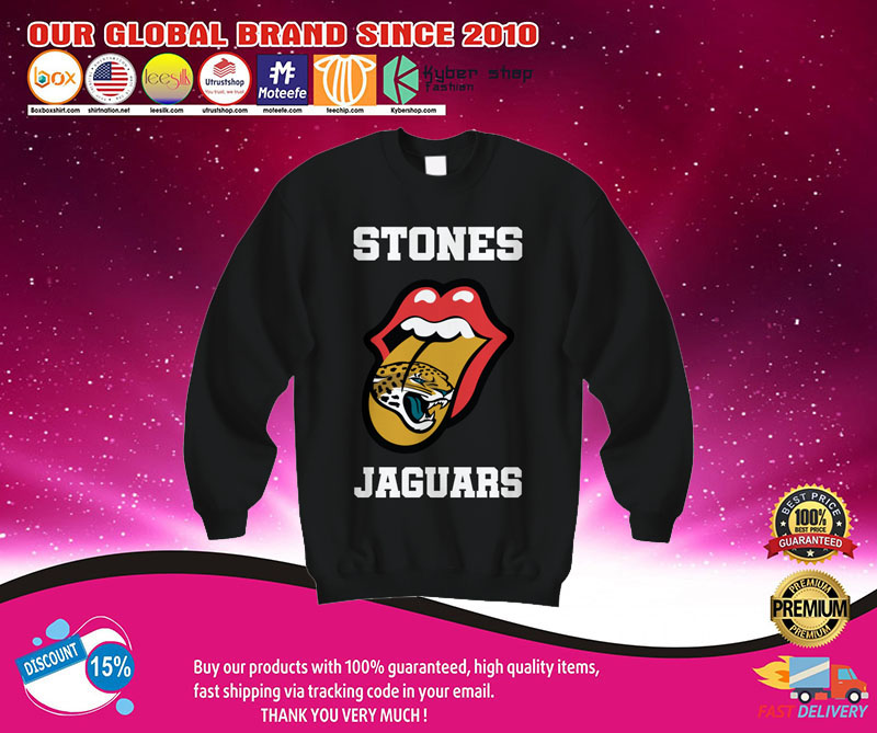 Jacksonville Jaguars Rolling Stones tongue shirt 7