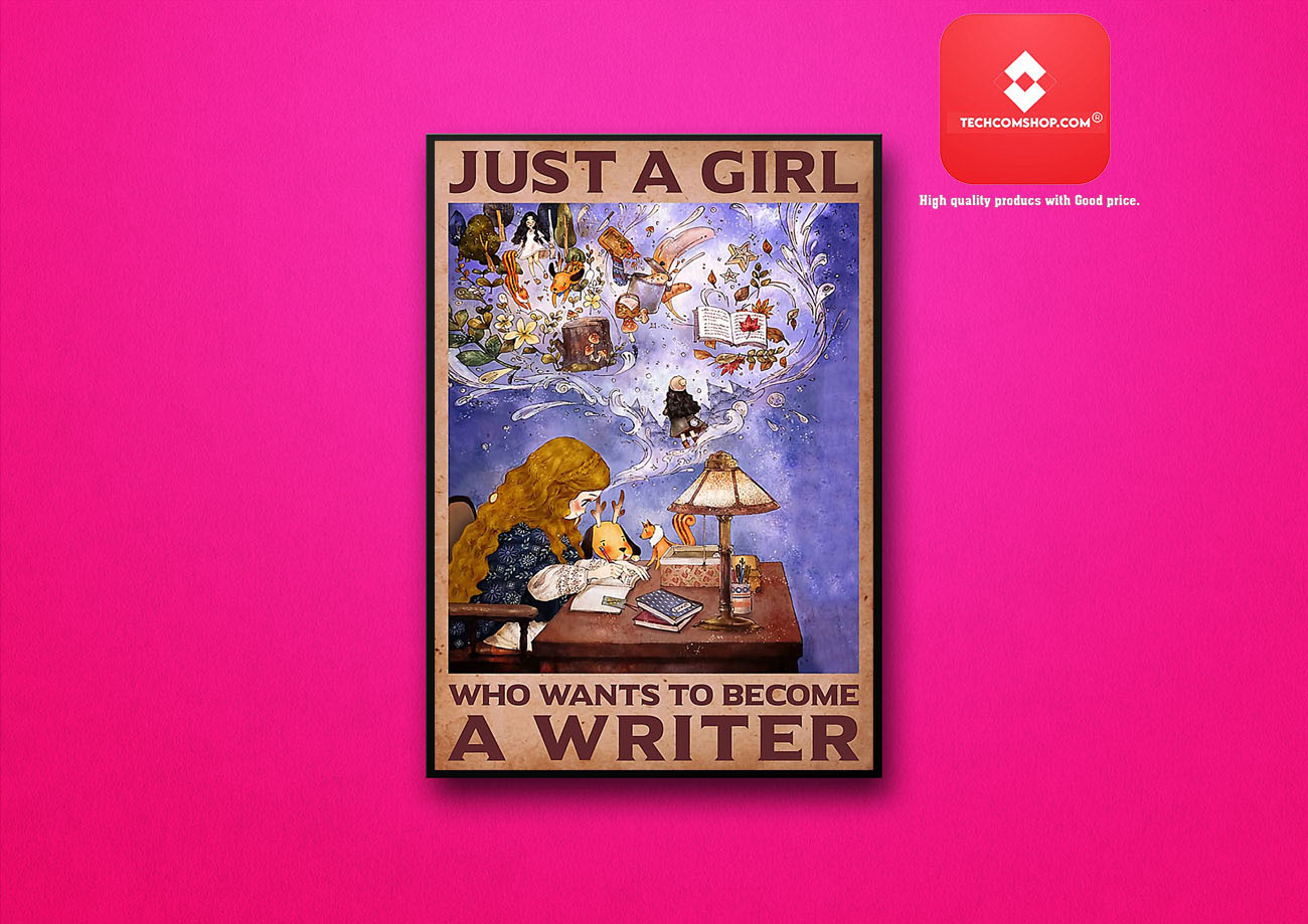 Just a girl who wants to become a writer poster 8